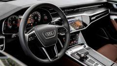 Nuova Audi A6 2018: la plancia
