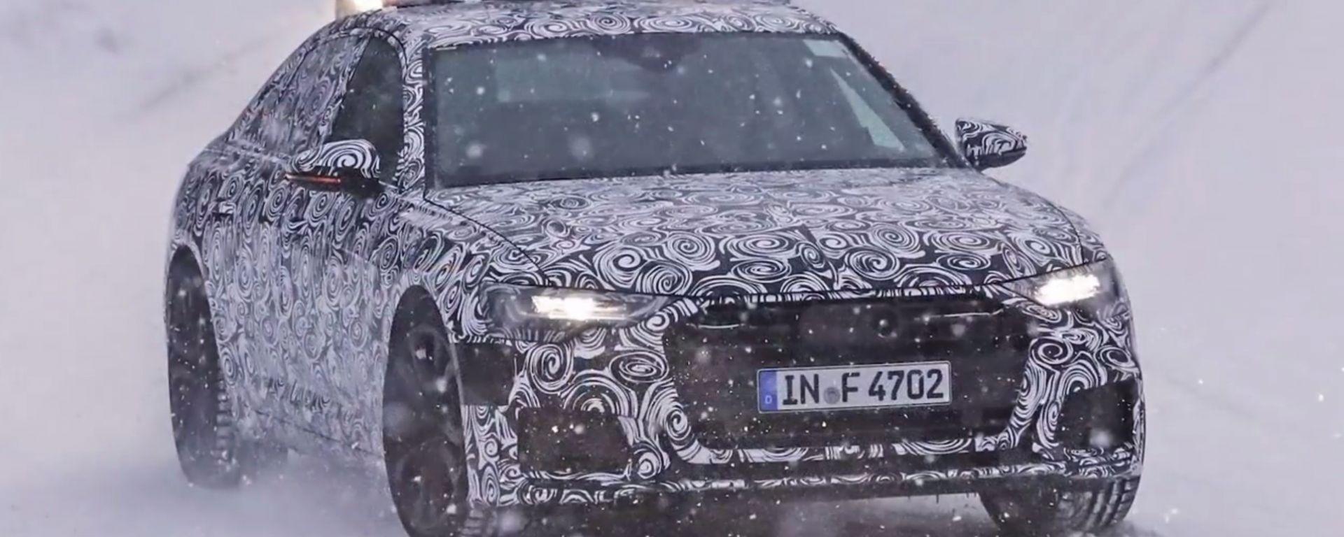 Nuova Audi A6 2018: le foto spia
