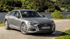 Nuova Audi A6 2018: vista 3/4 anteriore