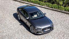 Nuova Audi A6 2018 vista dall'alto