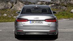 Nuova Audi A6 2018: vista posteriore