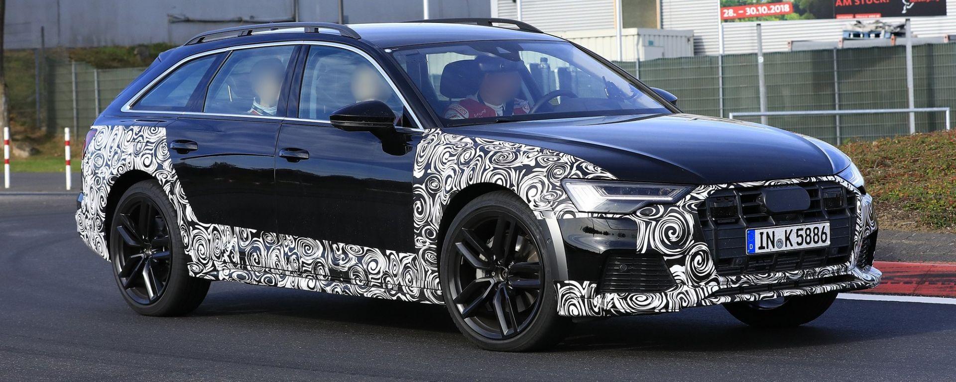 Nuova Audi A6 Allroad 2019, le prime immagini