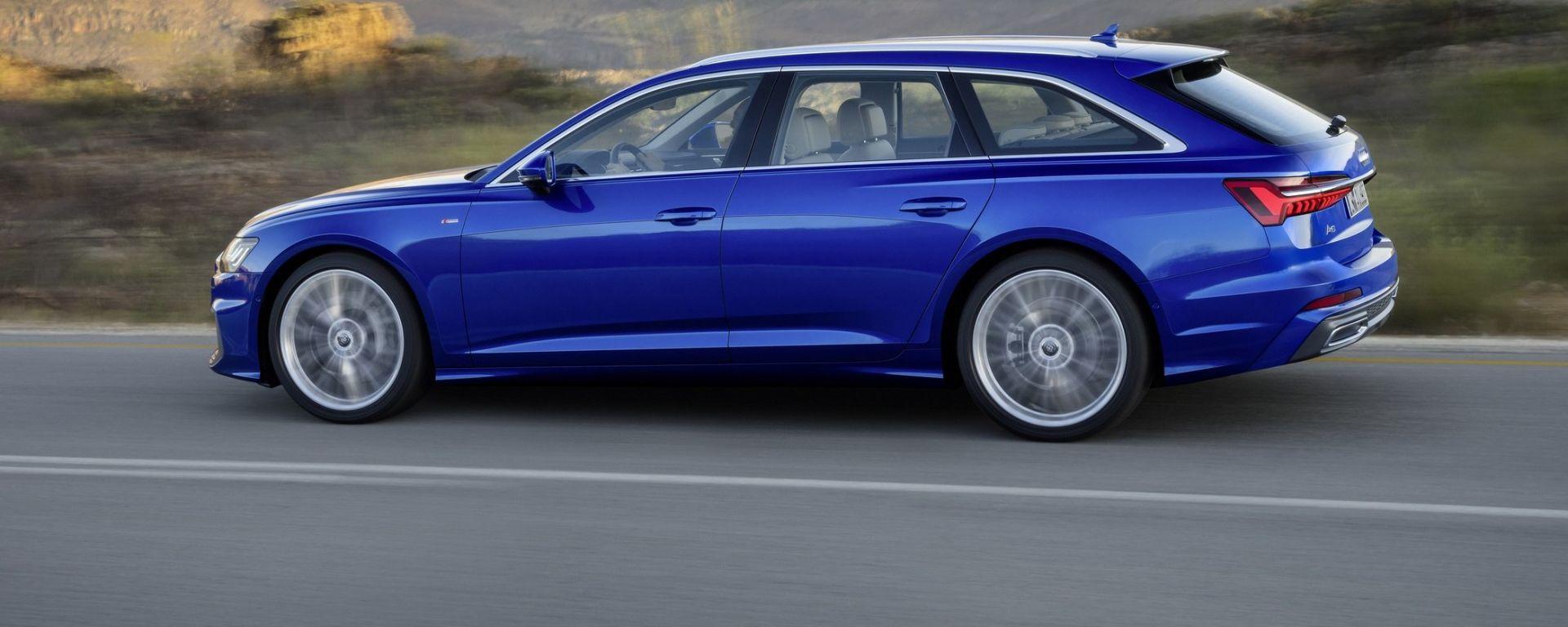 Nuova Audi A6 Avant: station wagon per famiglie hi-tech