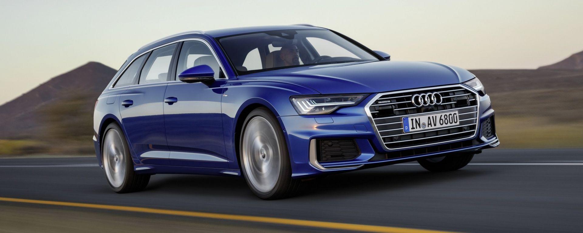 Nuova Audi A6 Avant: si aprono le danze