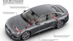 Nuova Audi A6: in video dal Salone di Ginevra 2018 - Immagine: 15