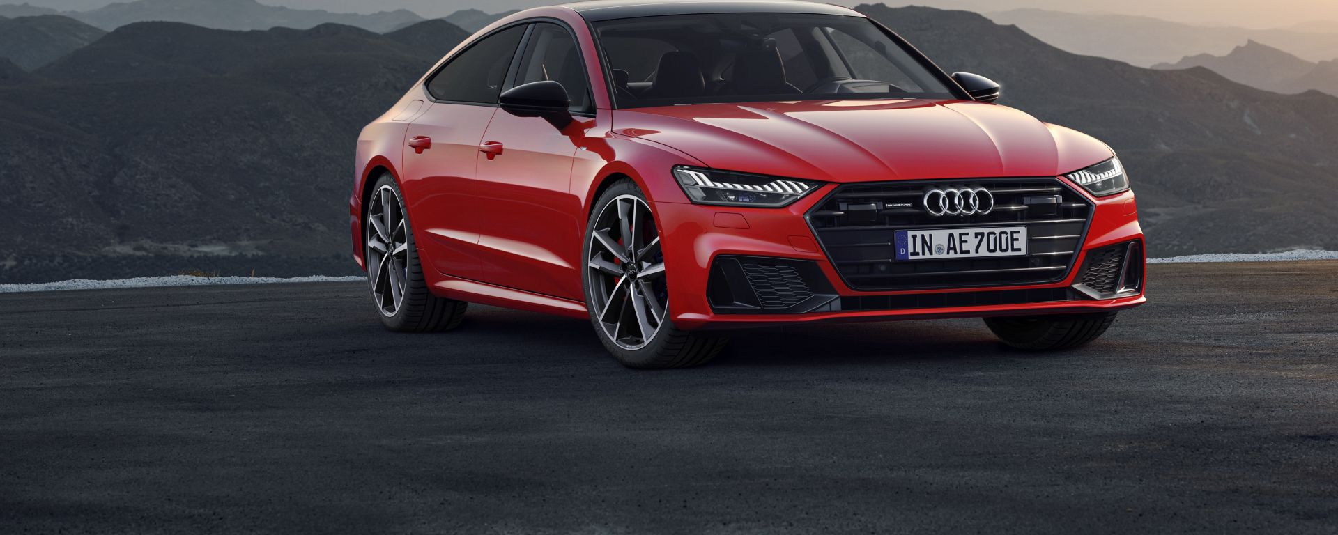 Nuova Audi A7 Sportback plug-in hybrid