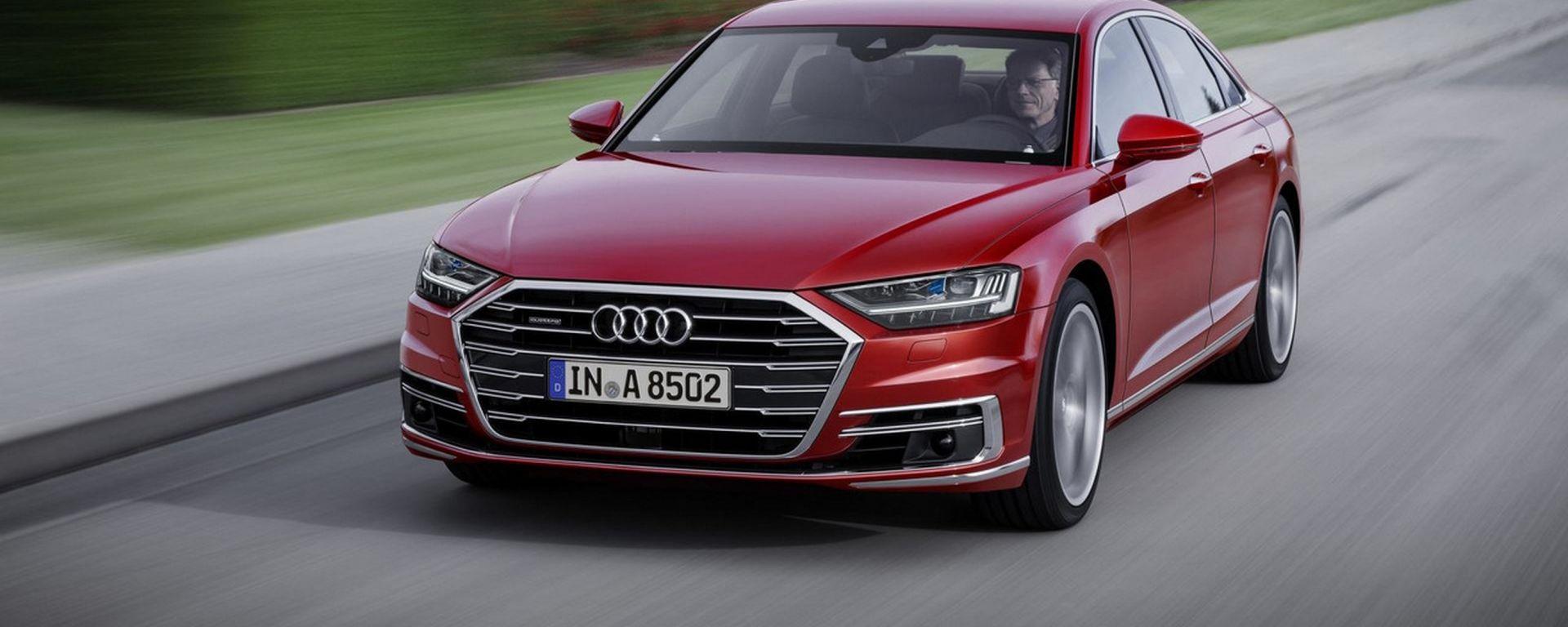 Audi A8: lusso e coccole in chiave hi-tech