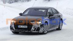 Nuova Audi A8: il frontale avrà uno stile più moderno