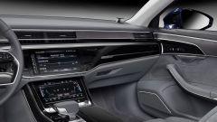 Nuova Audi A8: l'interfaccia dell'impianto Bang & Olufsen Advanced Sound System