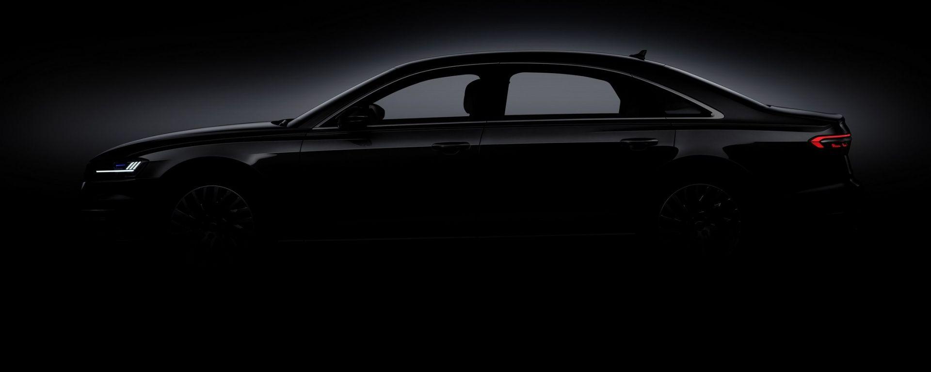 Nuova Audi A8: nuove immagini in attesa del debutto