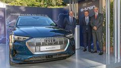 Audi ed Enel X: 14.000 km di energia gratis per il SUV e-tron - Immagine: 11