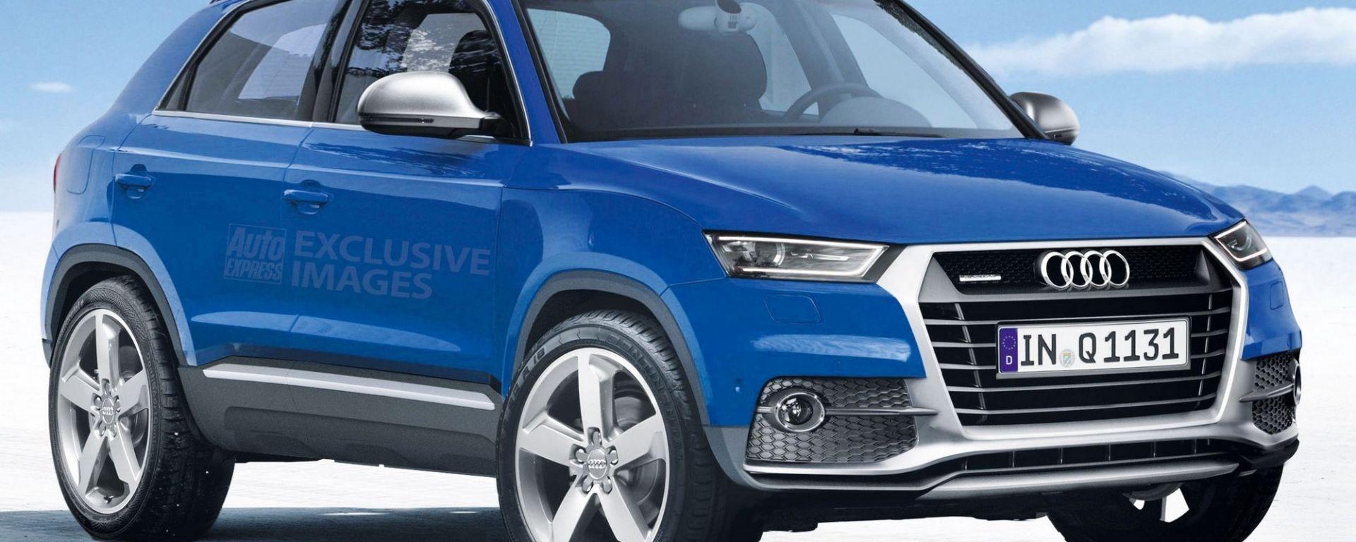 Nuova Audi Q1 2020: come sarà e quando arriva il mini-Suv ...