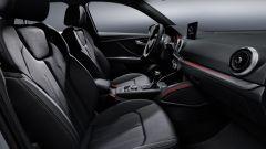 Nuova Audi Q2 2021: sedili e interni