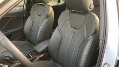 Nuova Audi Q2: i sedili sportivi anteriori