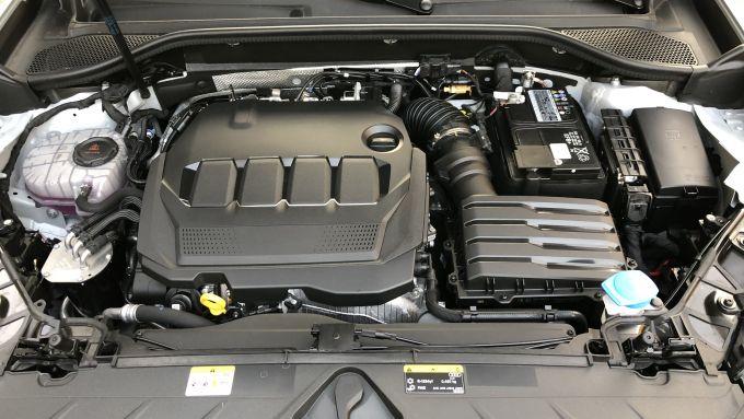 Nuova Audi Q2: il 4 cilindri turbodiesel della 35 TDI eroga 150 CV e 360 Nm