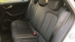 Nuova Audi Q2: il divanetto posteriore