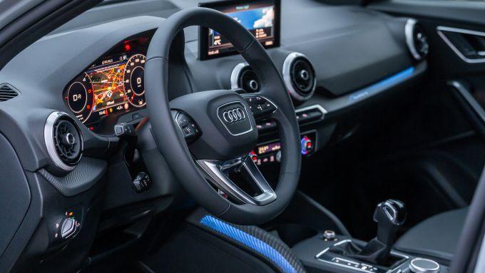 Nuova Audi Q2: l'abitacolo molto ben rifinito