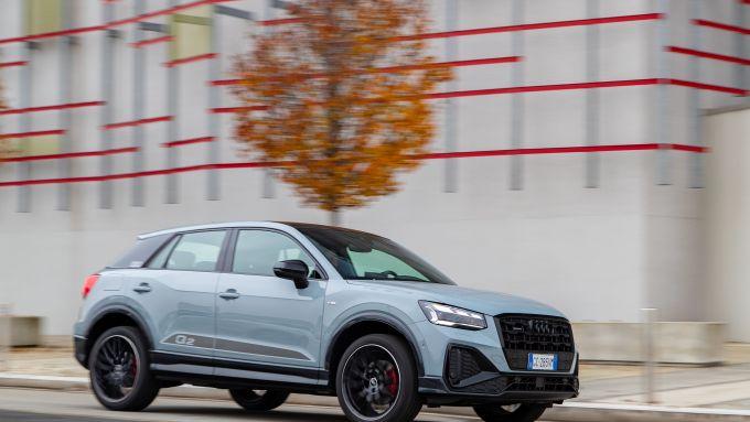 Nuova Audi Q2: reazioni dinamiche sincere e facilmente gestibili