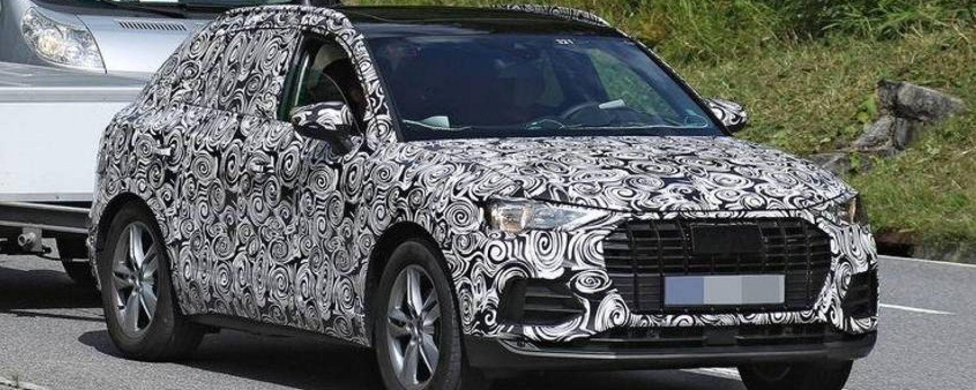 Nuova Audi Q3 2018: prime foto spia e indiscrezioni
