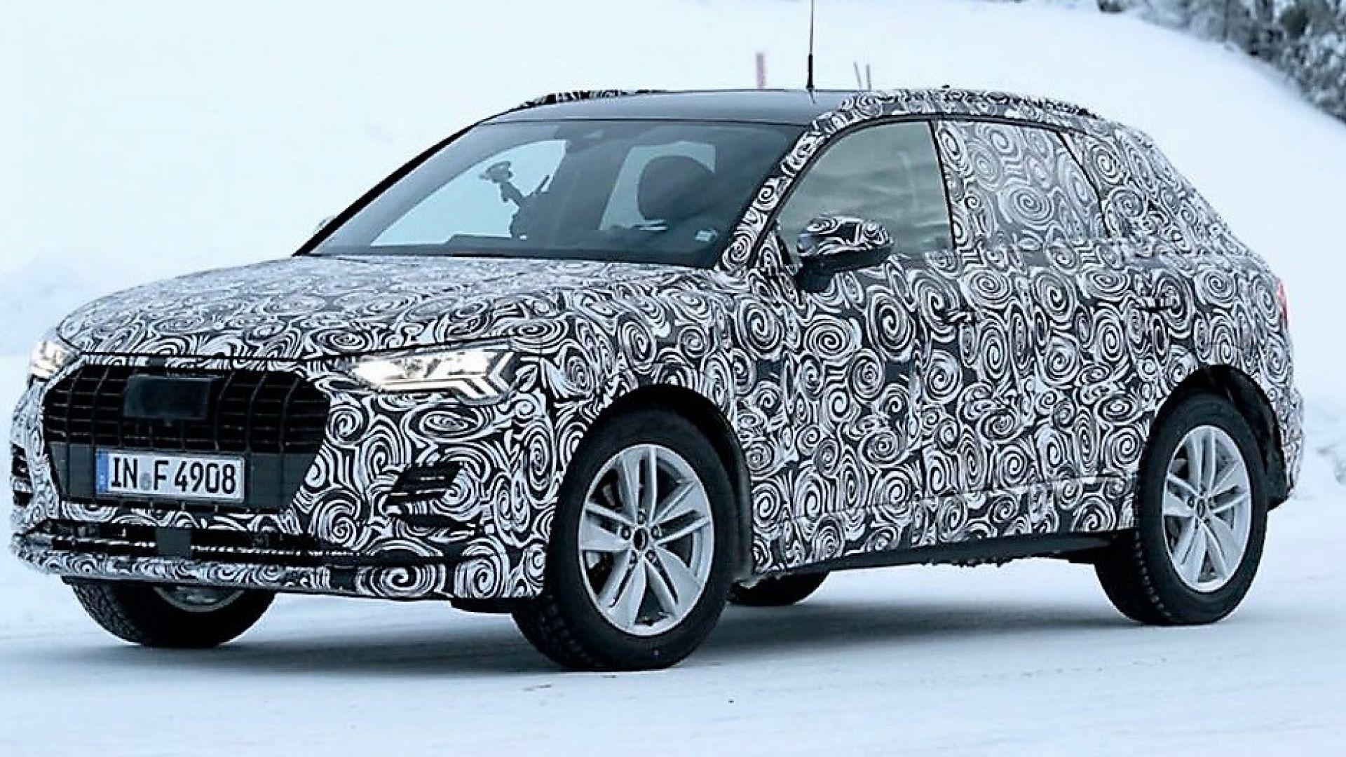 Nuova Audi Q3 2018: la 2° gen. svela il motore ibrido ...