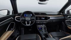 Nuova Audi Q3: cambiano gli interni con l'arrivo della strumentazione digitale