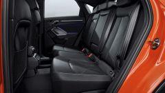 Nuova Audi Q3 Sportback 2019: i sedili posteriori