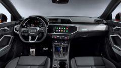 Nuova Audi Q3 Sportback 2019: il design della plancia
