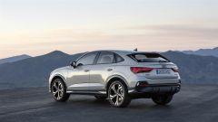 Nuova Audi Q3 Sportback 2019: la vista posteriore