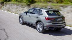 Nuova Audi Q3: vista 3/4 posteriore