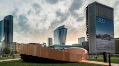 Evento a Milano per la presentazione di Audi Q4 e-tron: il video