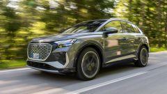Audi Q4 e-tron, viaggio nel tempo. Prova video dell'e-SUV compatto - Immagine: 4