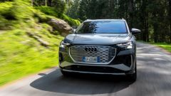 Audi Q4 e-tron, viaggio nel tempo. Prova video dell'e-SUV compatto - Immagine: 6