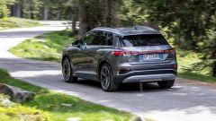 Audi Q4 e-tron, viaggio nel tempo. Prova video dell'e-SUV compatto - Immagine: 7