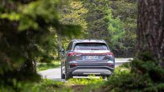 Audi Q4 e-tron, viaggio nel tempo. Prova video dell'e-SUV compatto - Immagine: 8