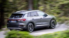 Audi Q4 e-tron, viaggio nel tempo. Prova video dell'e-SUV compatto - Immagine: 9
