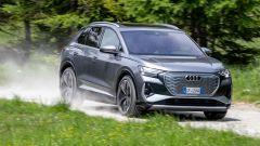 Audi Q4 e-tron, viaggio nel tempo. Prova video dell'e-SUV compatto - Immagine: 10