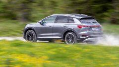 Audi Q4 e-tron, viaggio nel tempo. Prova video dell'e-SUV compatto - Immagine: 12