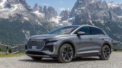 Audi Q4 e-tron, viaggio nel tempo. Prova video dell'e-SUV compatto - Immagine: 13