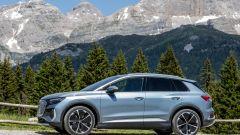 Audi Q4 e-tron, viaggio nel tempo. Prova video dell'e-SUV compatto - Immagine: 14