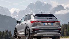 Audi Q4 e-tron, viaggio nel tempo. Prova video dell'e-SUV compatto - Immagine: 15