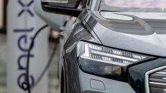 Audi Q4 e-tron, viaggio nel tempo. Prova video dell'e-SUV compatto - Immagine: 19