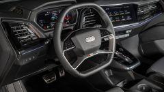 Audi Q4 e-tron, viaggio nel tempo. Prova video dell'e-SUV compatto - Immagine: 22
