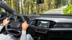 Audi Q4 e-tron, viaggio nel tempo. Prova video dell'e-SUV compatto - Immagine: 25