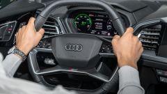 Audi Q4 e-tron, viaggio nel tempo. Prova video dell'e-SUV compatto - Immagine: 26