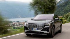 Audi Q4 e-tron, viaggio nel tempo. Prova video dell'e-SUV compatto - Immagine: 28
