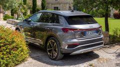 Audi Q4 e-tron, viaggio nel tempo. Prova video dell'e-SUV compatto - Immagine: 30