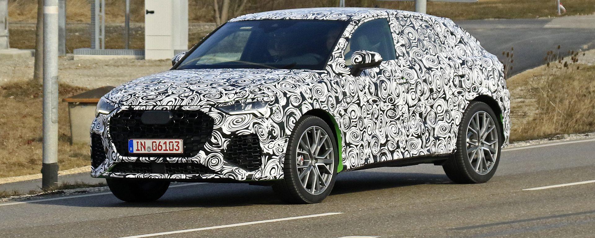 Nuova Audi RS Q4: è in arrivo la rivale di BMW X2