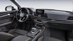 Nuova Audi Q5 2017, i nuovi interni hanno il Virtual Cockpit, l'hotspot wifi e l'infotainment MMI