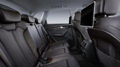 Nuova Audi Q5 2017: in seconda fila si sta comodi e il divanetto è scorrevole