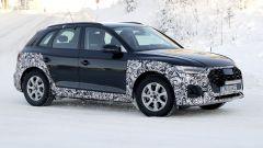 Nuova Audi Q5 2020: il frontale inedito